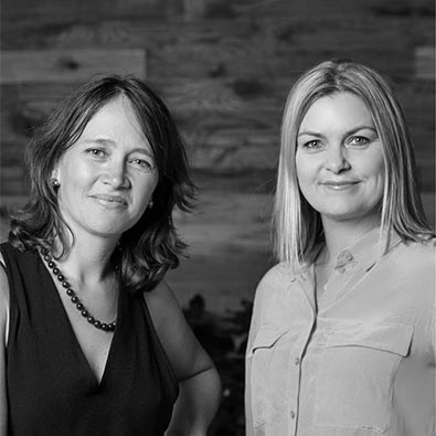 Heather Catchpole and Karen Taylor-Brown of Refraction Media