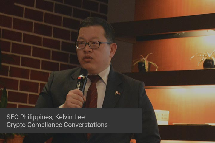 Philippines SEC Commissioner Kelvin Lee